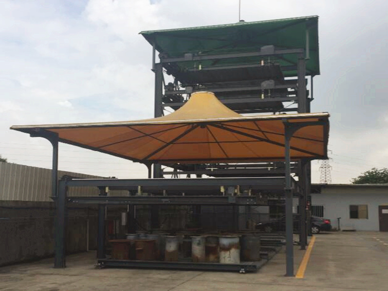 Tension Fabric Canopy