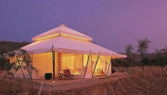 tensile tent for hotel